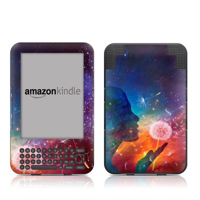 Kindle Keyboard Skin - Million Stars