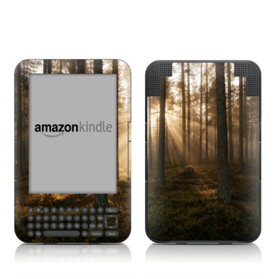 Kindle Keyboard Skin - Misty Trail