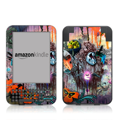 Kindle Keyboard Skin - The Monk