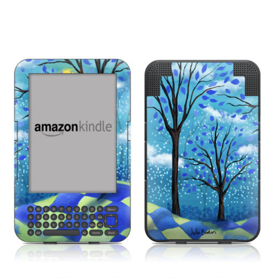 Kindle Keyboard Skin - Moon Dance Magic