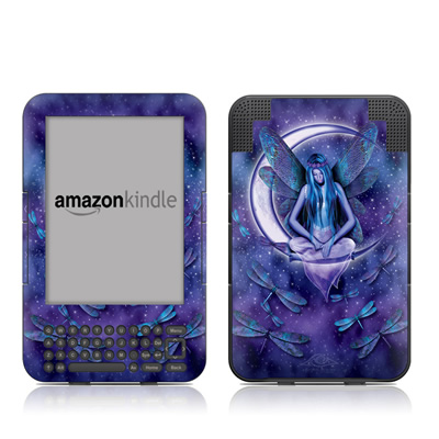 Kindle Keyboard Skin - Moon Fairy