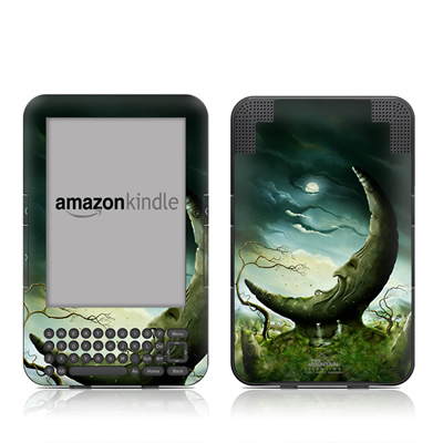 Kindle Keyboard Skin - Moon Stone
