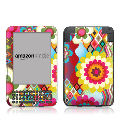 Kindle Keyboard Skin - Mosaic