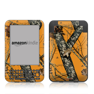 Kindle Keyboard Skin - Blaze