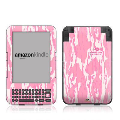 Kindle Keyboard Skin - New Bottomland Pink