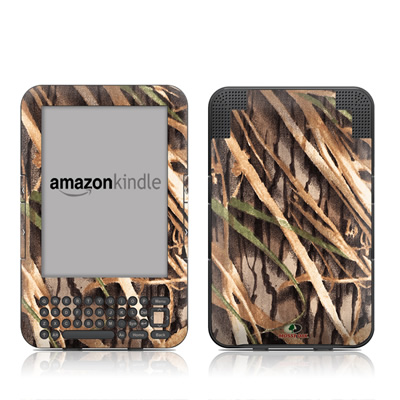 Kindle Keyboard Skin - Shadow Grass