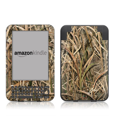 Kindle Keyboard Skin - Shadow Grass Blades