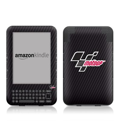 Kindle Keyboard Skin - MotoGP Carbon Logo