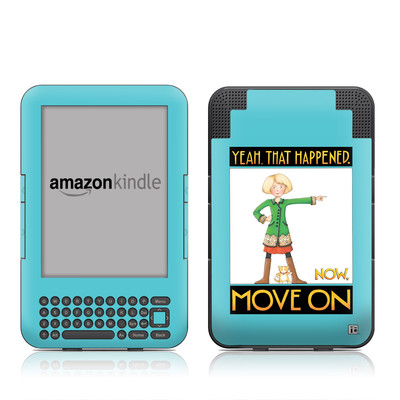Kindle Keyboard Skin - Move On