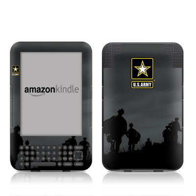 Kindle Keyboard Skin - Night Action