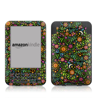 Kindle Keyboard Skin - Nature Ditzy