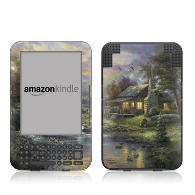 Kindle Keyboard Skin - Natures Paradise