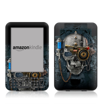 Kindle Keyboard Skin - Necronaut