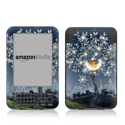 Kindle Keyboard Skin - Nesting