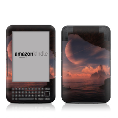 Kindle Keyboard Skin - New Dawn