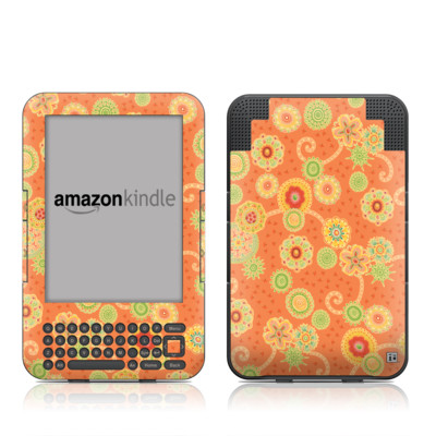 Kindle Keyboard Skin - Nina