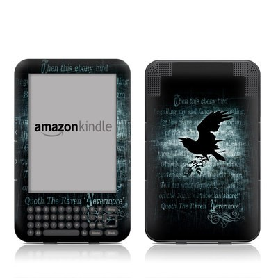 Kindle Keyboard Skin - Nevermore