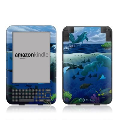Kindle Keyboard Skin - Oceans For Youth