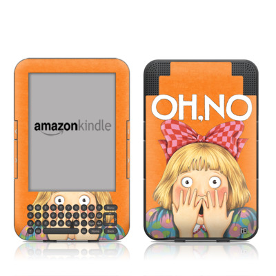 Kindle Keyboard Skin - Oh No