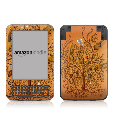 Kindle Keyboard Skin - Orchestra