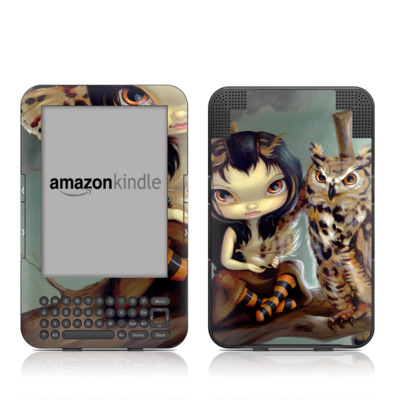 Kindle Keyboard Skin - Owlyn