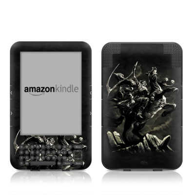 Kindle Keyboard Skin - Pale Horse