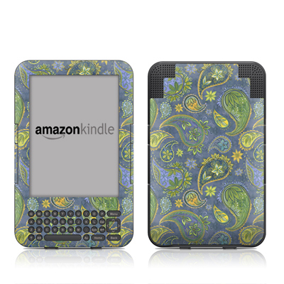 Kindle Keyboard Skin - Pallavi Paisley