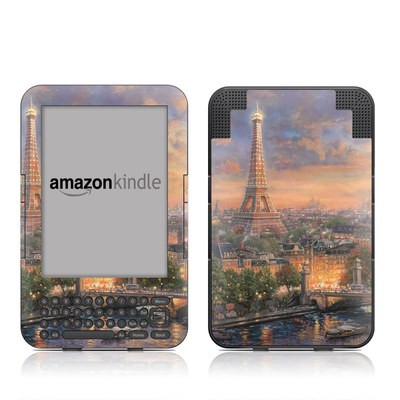 Kindle Keyboard Skin - Paris City of Love