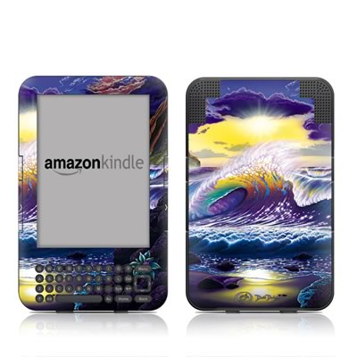 Kindle Keyboard Skin - Passion Fin