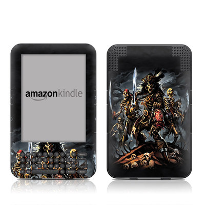 Kindle Keyboard Skin - Pirates Curse