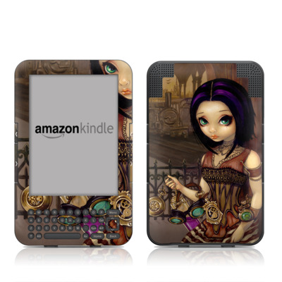 Kindle Keyboard Skin - Poe