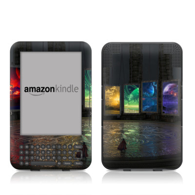 Kindle Keyboard Skin - Portals