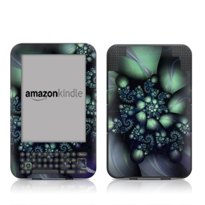 Kindle Keyboard Skin - Psilocybin
