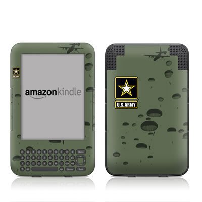 Kindle Keyboard Skin - Pull The Lanyard