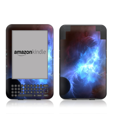Kindle Keyboard Skin - Pulsar