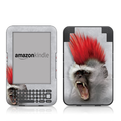 Kindle Keyboard Skin - Punky