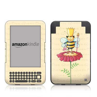 Kindle Keyboard Skin - Queen Bee
