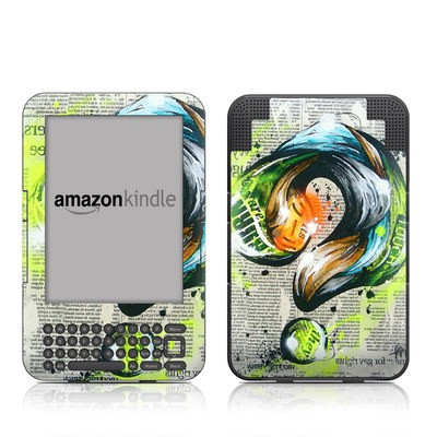 Kindle Keyboard Skin - Question