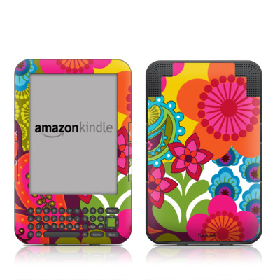 Kindle Keyboard Skin - Raj