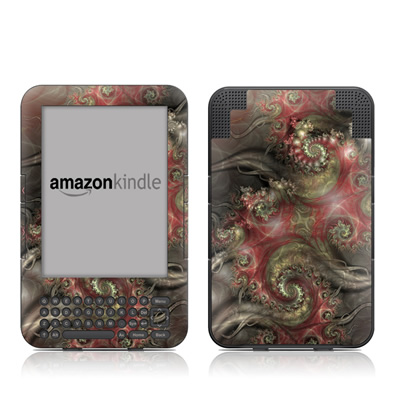 Kindle Keyboard Skin - Reaching Out