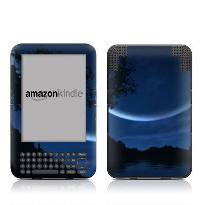 Kindle Keyboard Skin - Reverie