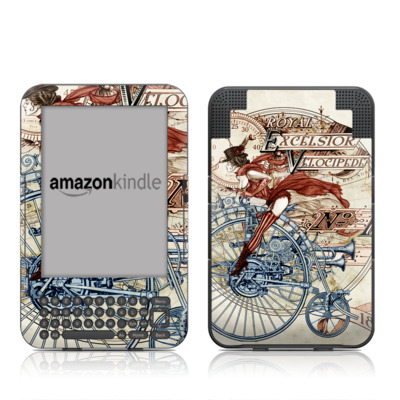 Kindle Keyboard Skin - Royal Excelsior