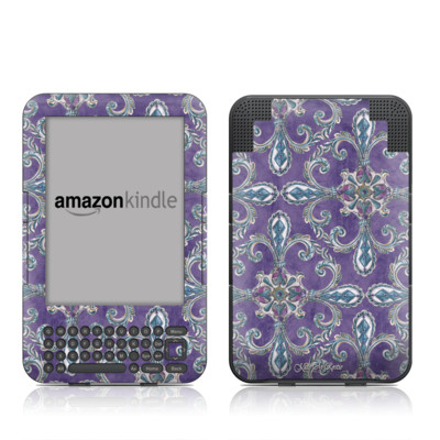 Kindle Keyboard Skin - Royal Crown