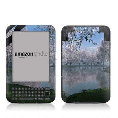 Kindle Keyboard Skin - Sakura