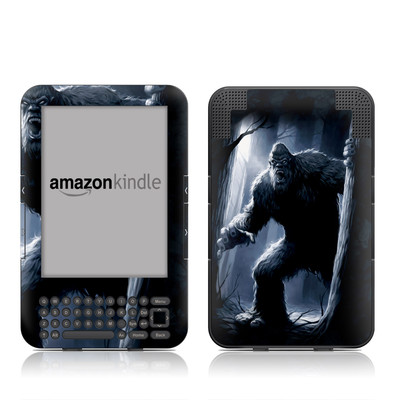 Kindle Keyboard Skin - Sasquatch