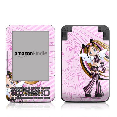 Kindle Keyboard Skin - Sweet Candy