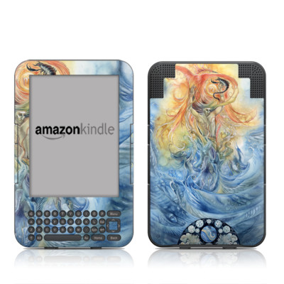 Kindle Keyboard Skin - Scorpio