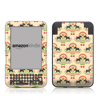 Kindle Keyboard Skin - Scotties