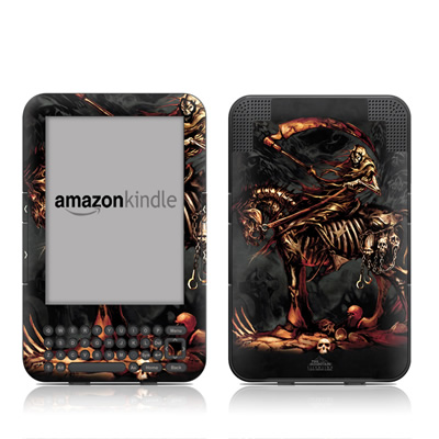 Kindle Keyboard Skin - Scythe
