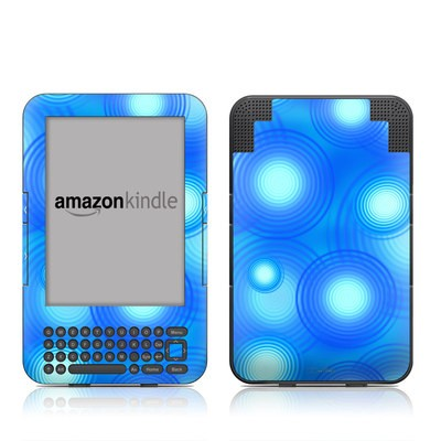 Kindle Keyboard Skin - Seeing Spots